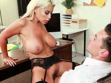 Attractive Latina Bridgette B. gets her tight cunt used in a hardcore flick